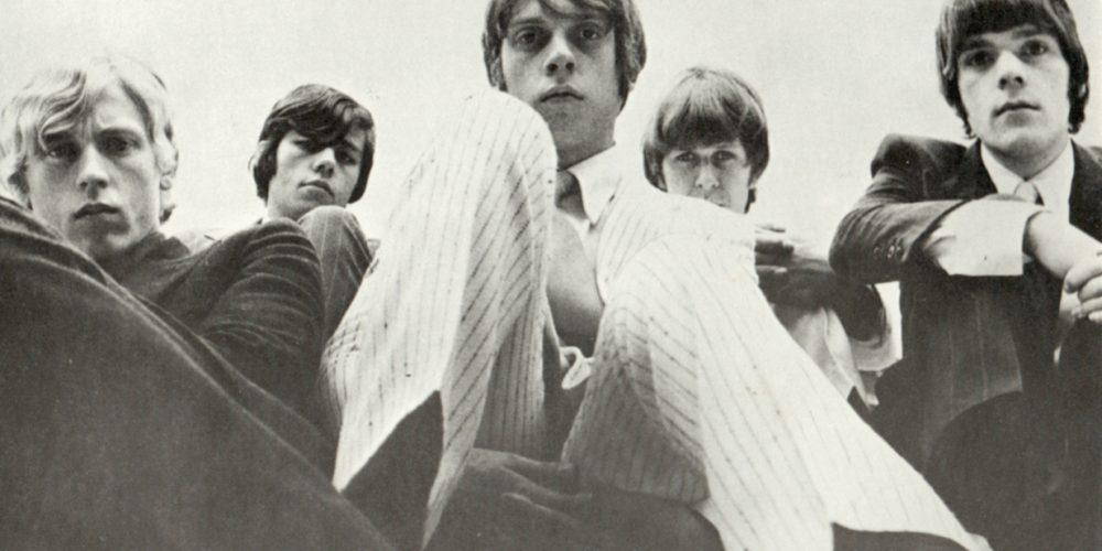 The Move - Carl Wayne 1966 by photographer Robert Davidson