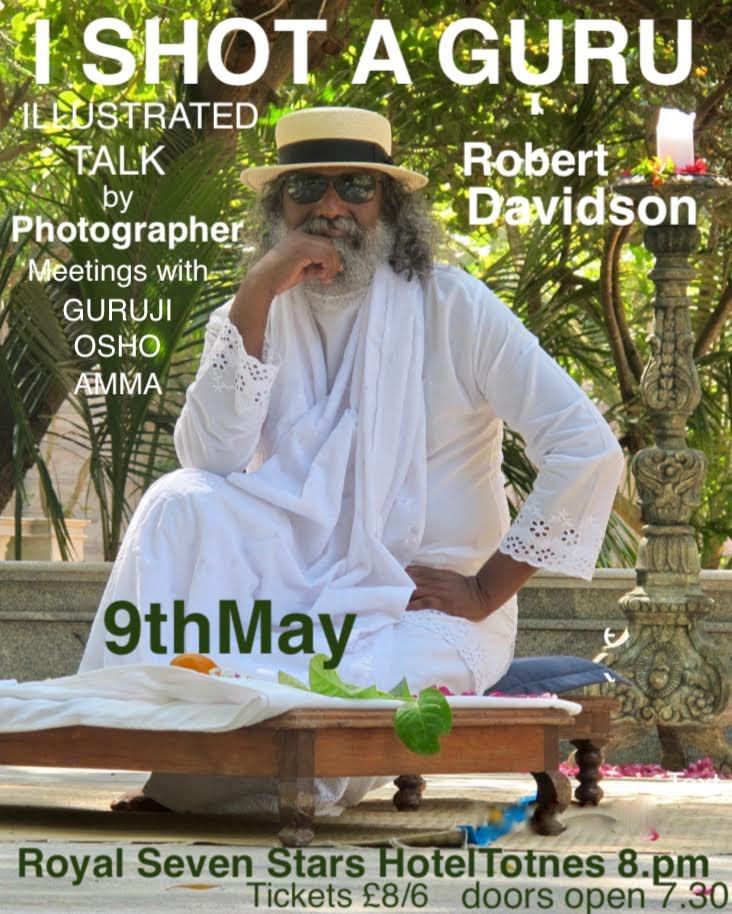 Robert Davidson photographic documentary evening - I Shot a Guru
