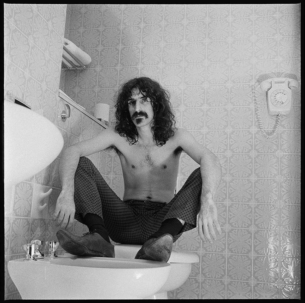 Frank Zappa at Royal Garden Hotel 1967 #4 © Rbert Davidson Photography