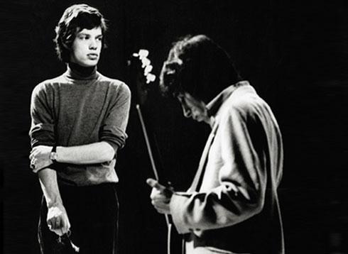 Image of Mick Jagger and Keith Richards - Robert Davidson
