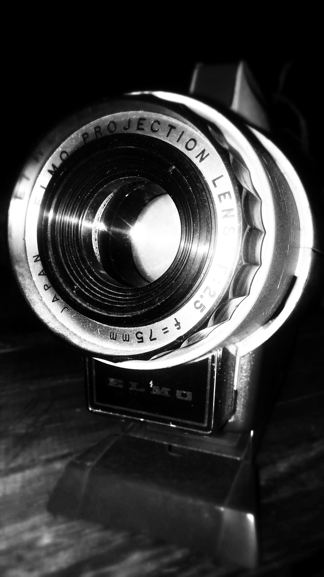 Photography slide projector - illustrated talks