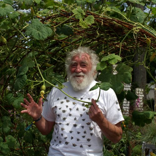 David Bellamy, by photographer Robert Davidson