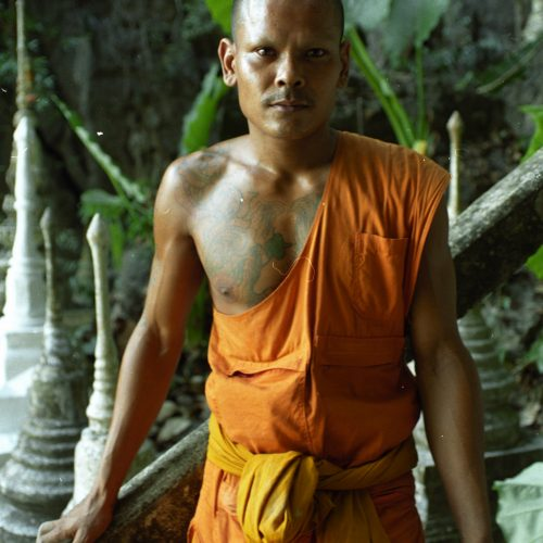 Thai Buddhist monk - © Robert Davidson Photography