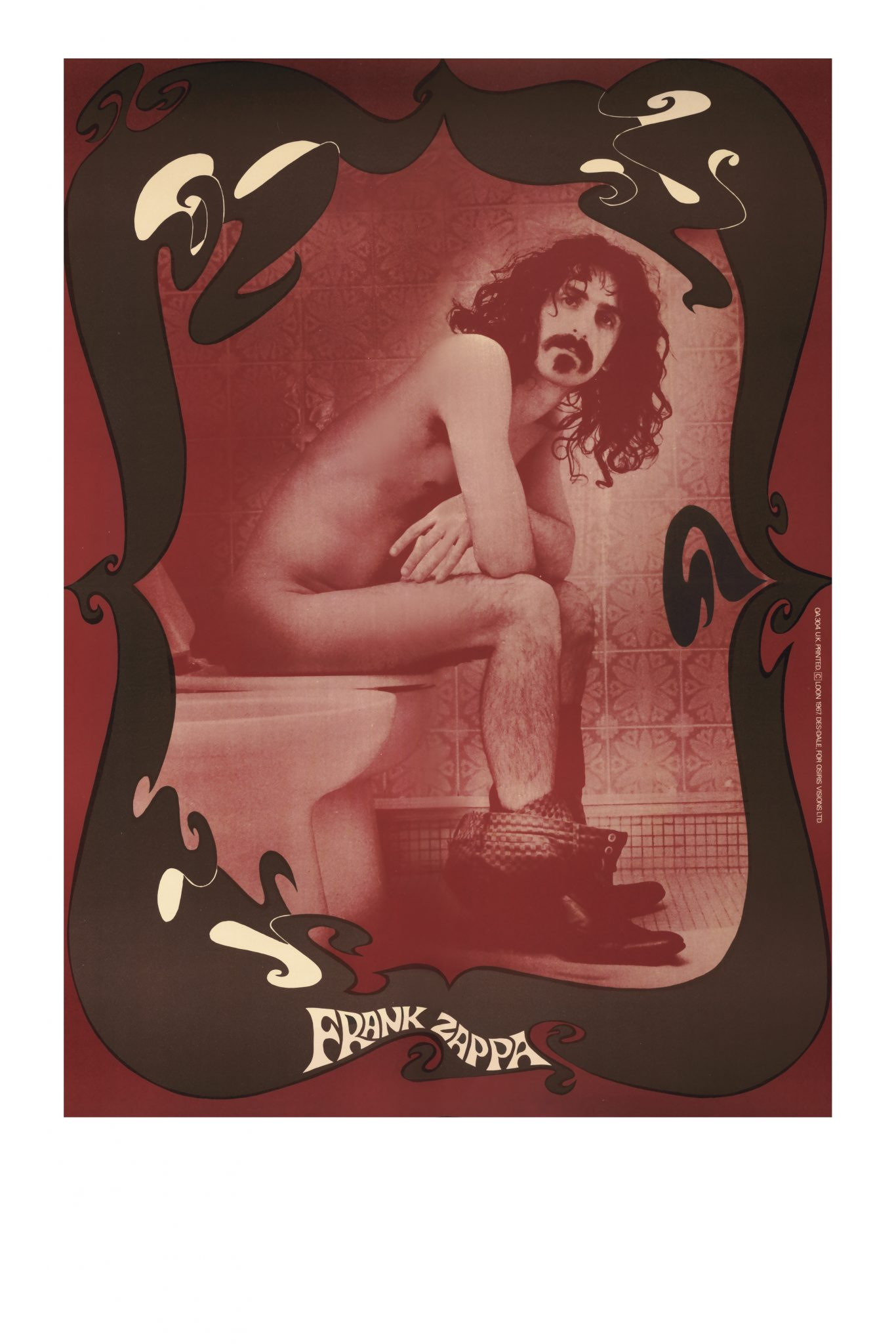 Official 'Zappa Krappa' Toilet Poster released for sale